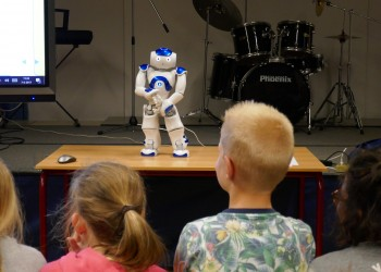 Robot in de klas
